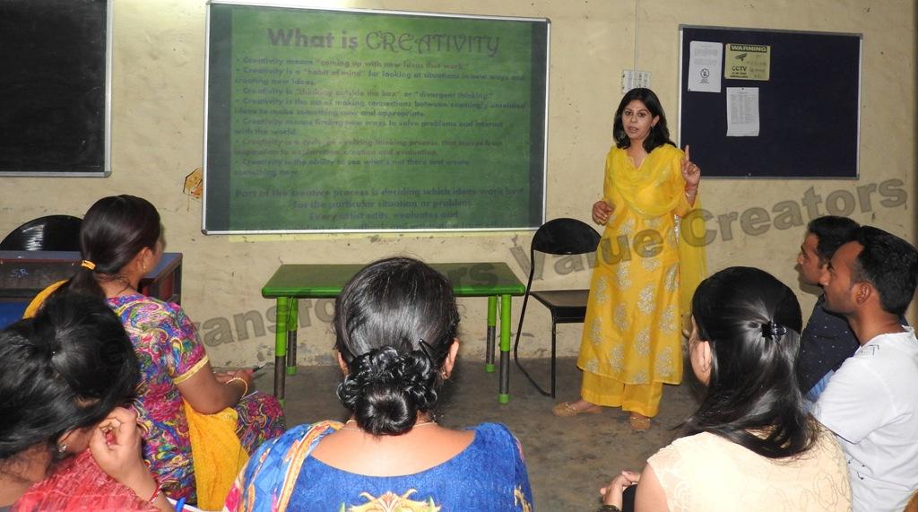 """Instill Creativity in Teaching"": A 10 days workshop for Teachers  at Akshar School,The Ozone Foundation in Kaimbwala, Chandigarh"