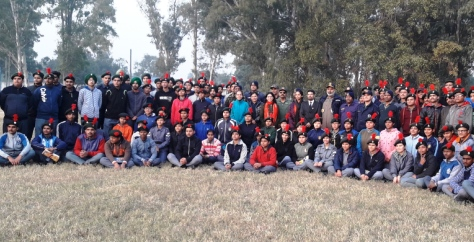 A DAY SPENT WITH THE NCC CADETS.